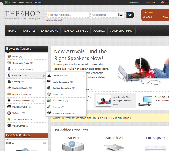 IT TheShop - Joomla 1.7